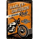 Harley-Davidson The Original Ride Skylt 20x30