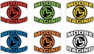 DECAL MOOSE INSIGNIA 6PK