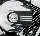 Willie G Skull Air Cleaner Trim - Chrome