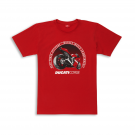 GRAPHIC RACE TRACK T-SHIRT