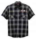 Men's H-D Racing Performance Stay Cool Plaid Shirt