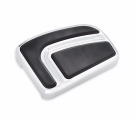 AIRFLOW BRAKE PEDAL PAD-CHROME