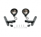 Auxiliary lightning bracket kit black