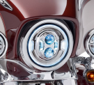 "7"" DAYMAKER PROJECTOR LED HEADLAMP CHROME"
