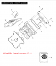 GASKET KIT CAM COVER V-ROD