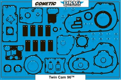 BOARD GSKT TWIN CAM 96