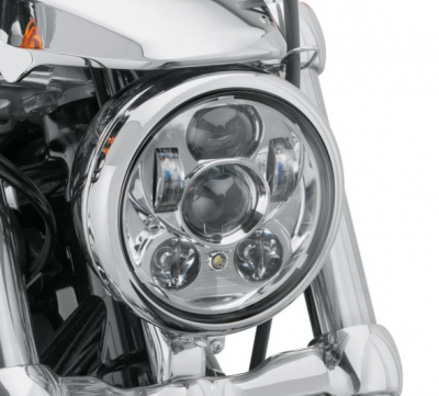 "5-3/4"" DAYMAKER PROJECTOR LED HEADLAMP CHROME"